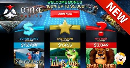 New Mobile Site for Drake Casino