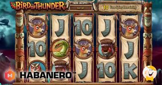 Habanero Launches 'Bird of Thunder'