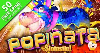 50 Free Spins on Popinata from Slotastic