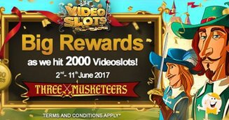 Videoslots bereikt mijlpaal van 2.000 casinospellen