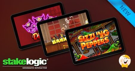 Stakelogic launches devils sizzling peppers and bank or prank