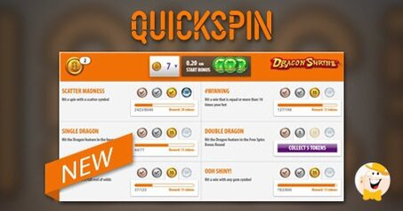New quickspin module achievements