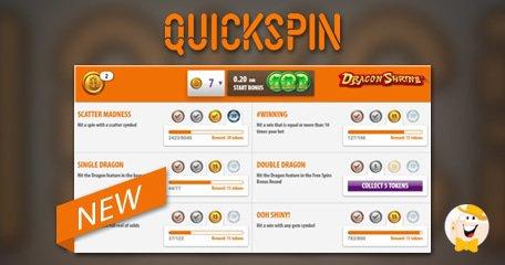 Spaar voor het bonusspel met de Quickspin Achievements
