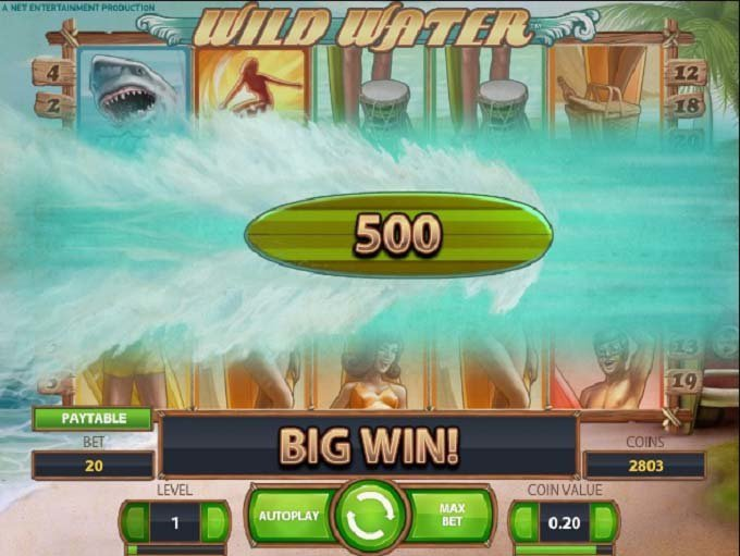 Mr Green Casino: Lots of Fun and Some Loses on the Wild Water Slot