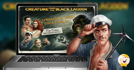 Tackling the creature from the black lagoon
