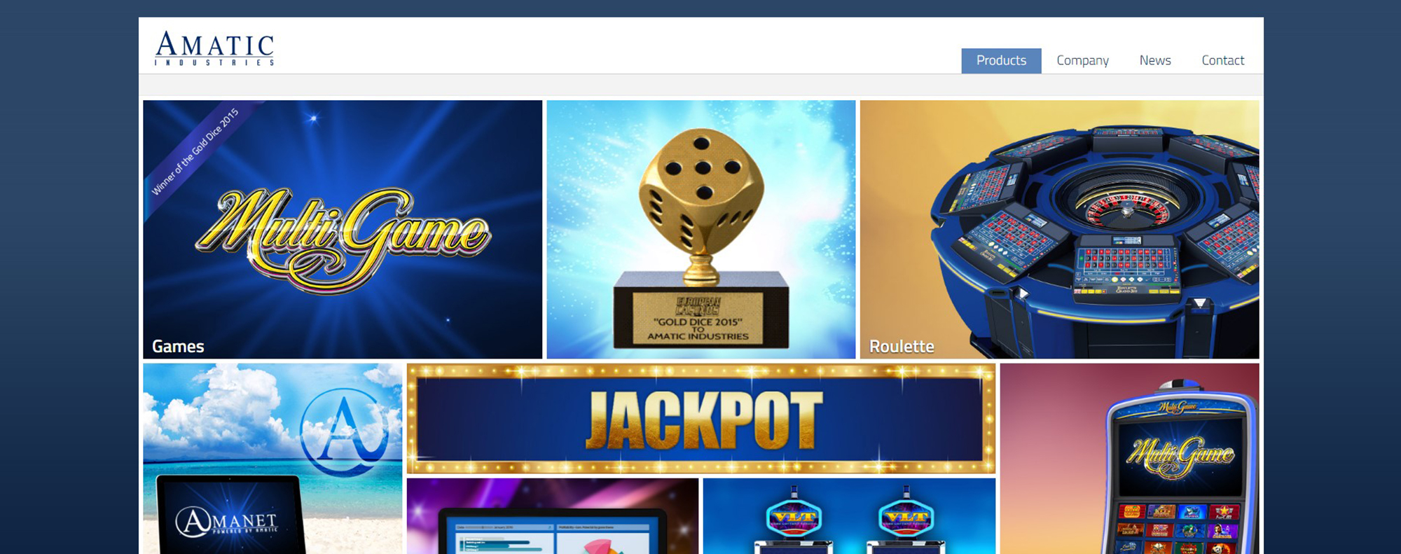 amatic at an online casino