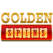 Golden spins logo