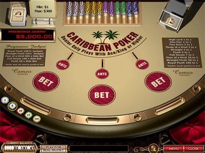 online caribbean-stud-poker