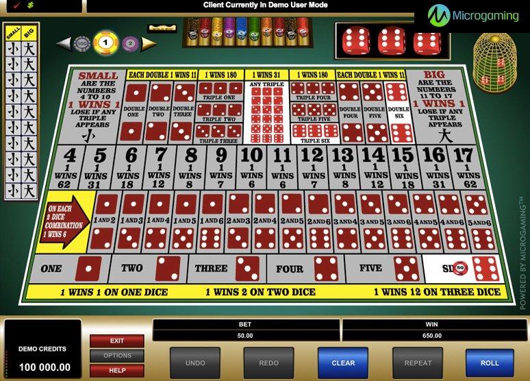 online casino bonus guide sic bo